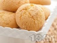 Рецепта Лесни домашни бабини курабийки с кисело мляко, яйца и сода